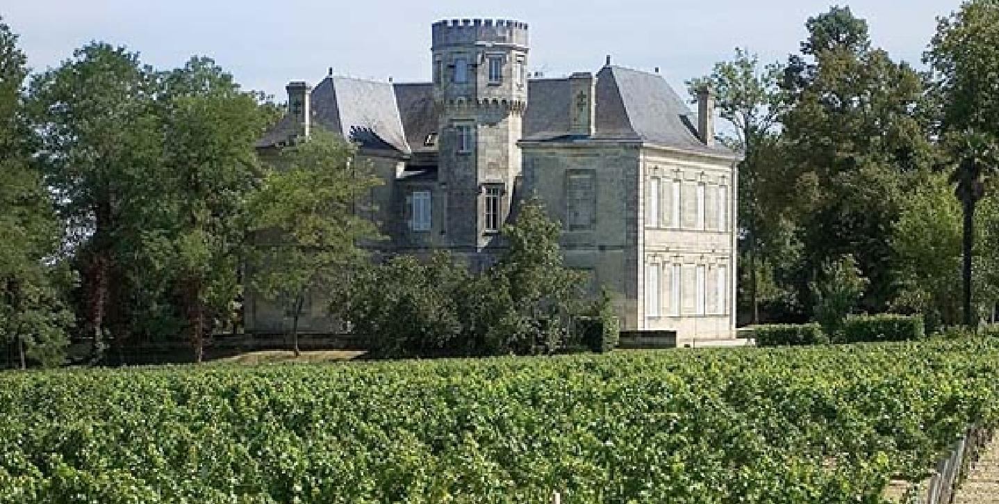 Château ferrière face arrière