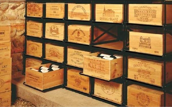 La conservation du vin.
