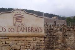 Clos des Lambrays mur plaque G