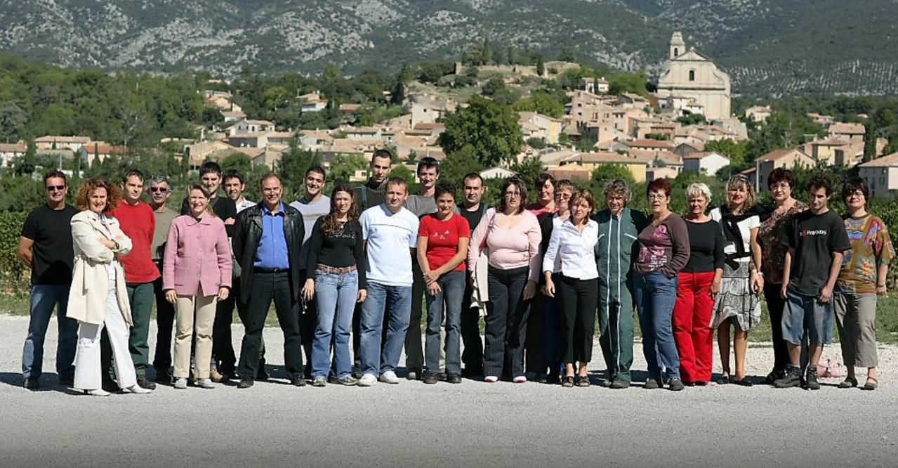 Equipe  VMV Vignerons du mont Ventoux