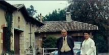 En tournée dans le Médoc avec Yves de Luze (Maison de Luze négociant)