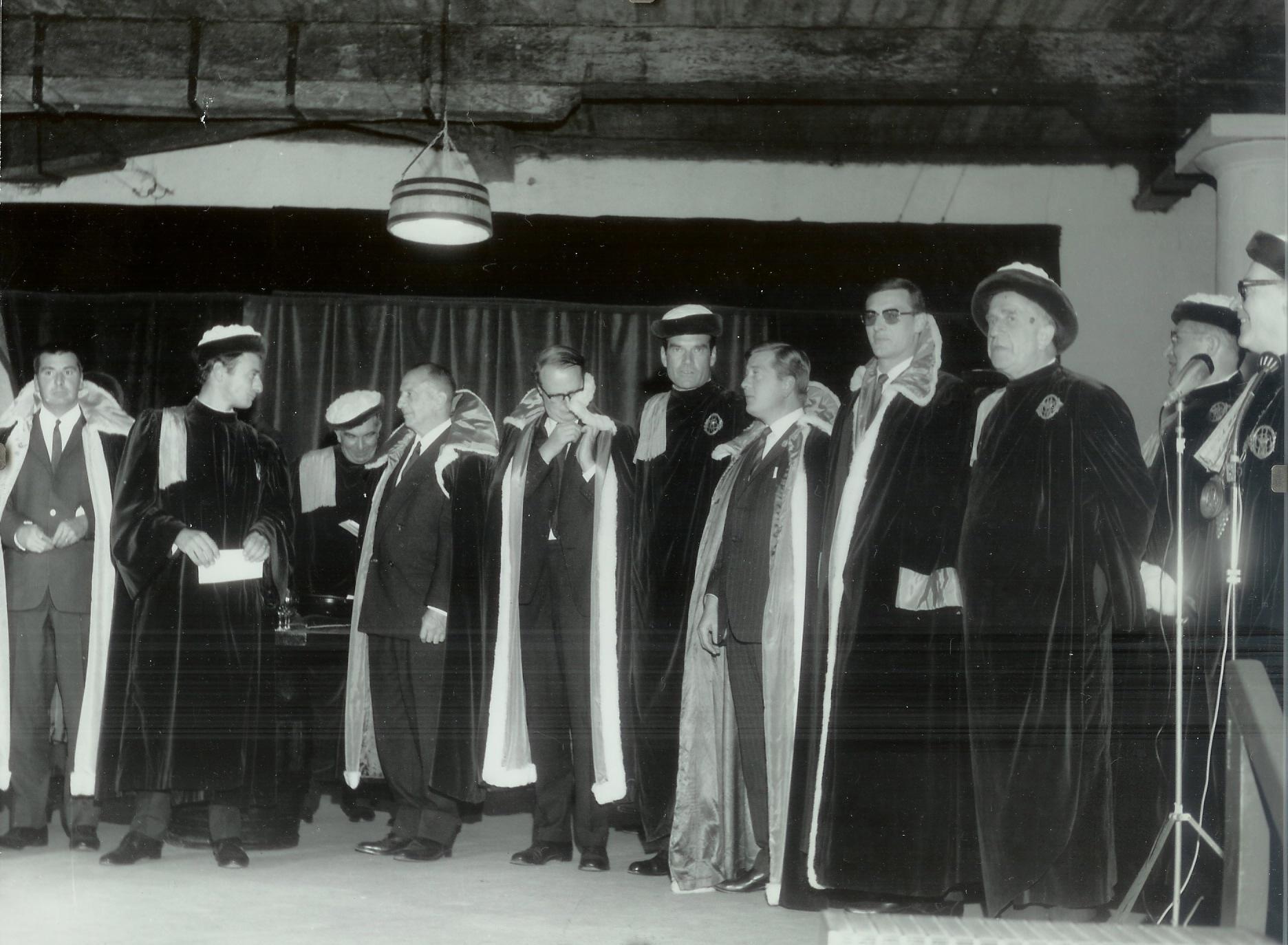 Intronisé Commandeur d'Honneur - château.Margaux 1967