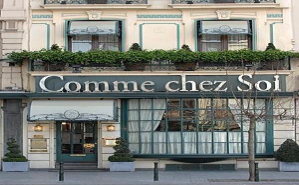 """Les vins de la cave """"Comme Chez Soi"""" à Bruxelles, rapporte plus de 300.000 euros."""